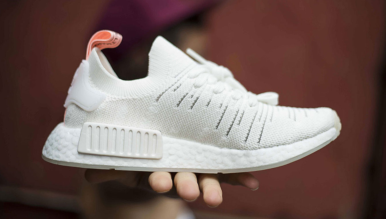 NMD City Sock White Grey First In Sneakers
