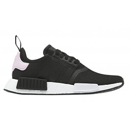 Details about Womens Adidas Nmd R1 Trainers Core Black White Clear Pink Trainers Shoes