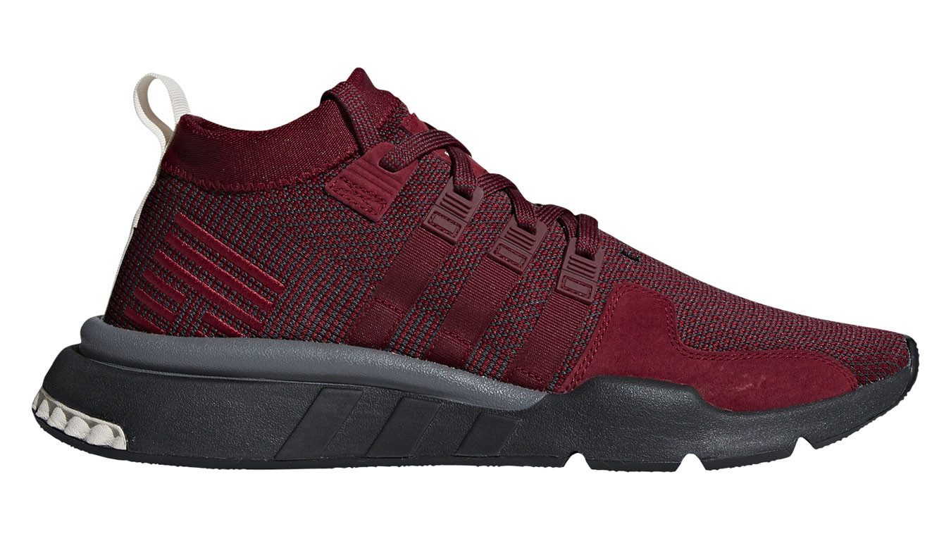 check out bfd31 ff9b7 adidas Eqt Support Mid Adv Collegiate Burgundy