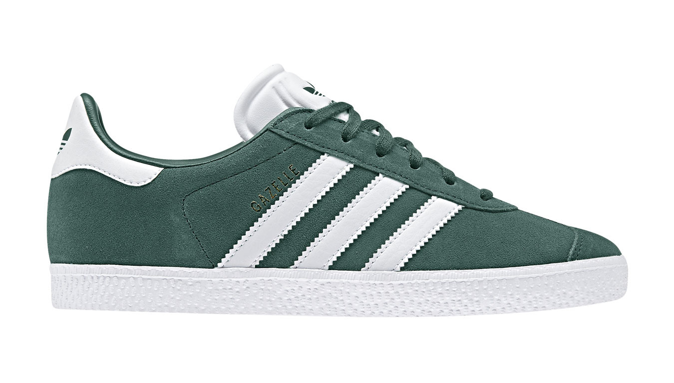 adidas Gazelle J collegiate green
