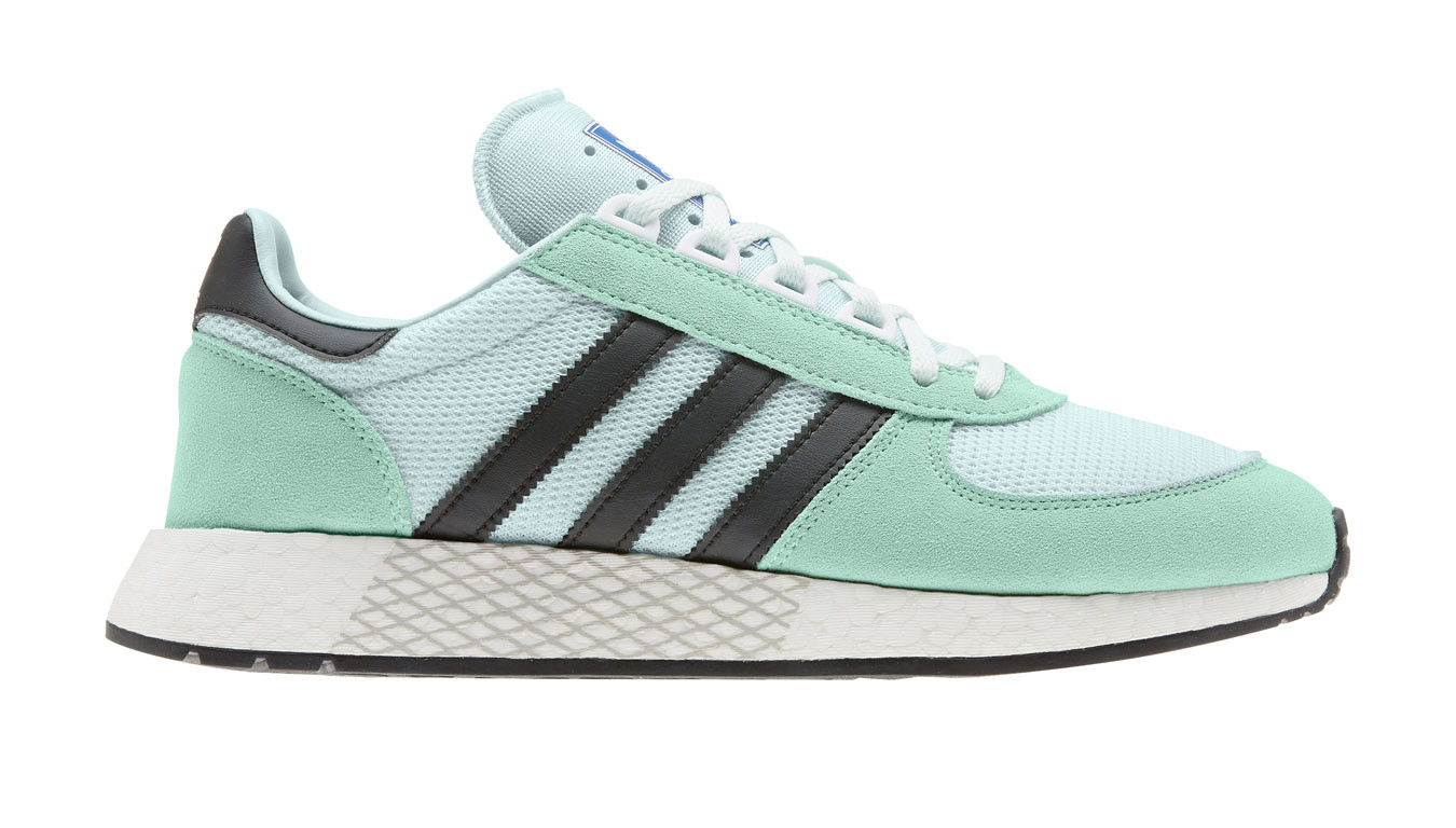 new photos famous designer brand how to orders adidas Marathon Tech Clear Mint