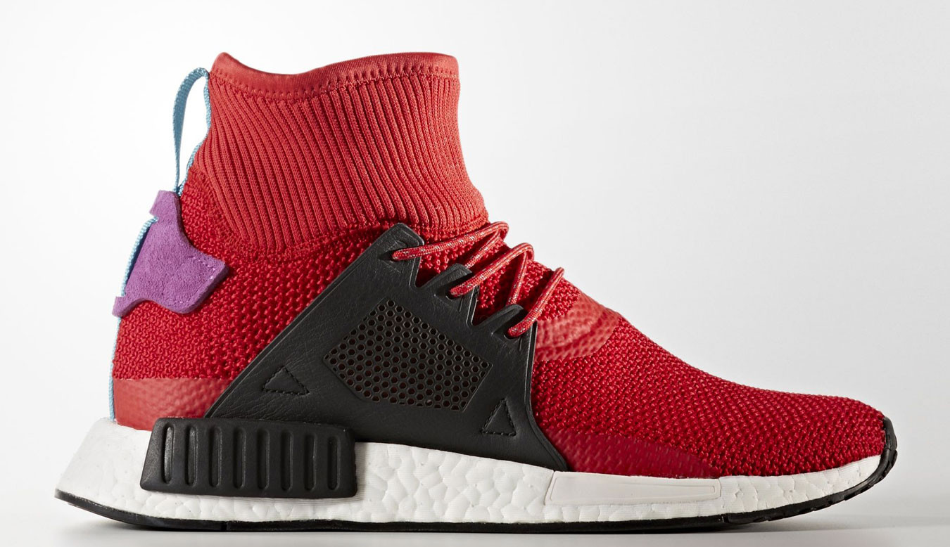 official photos 98ae4 16b32 adidas NMD XR1 Winter Scarlet Pack