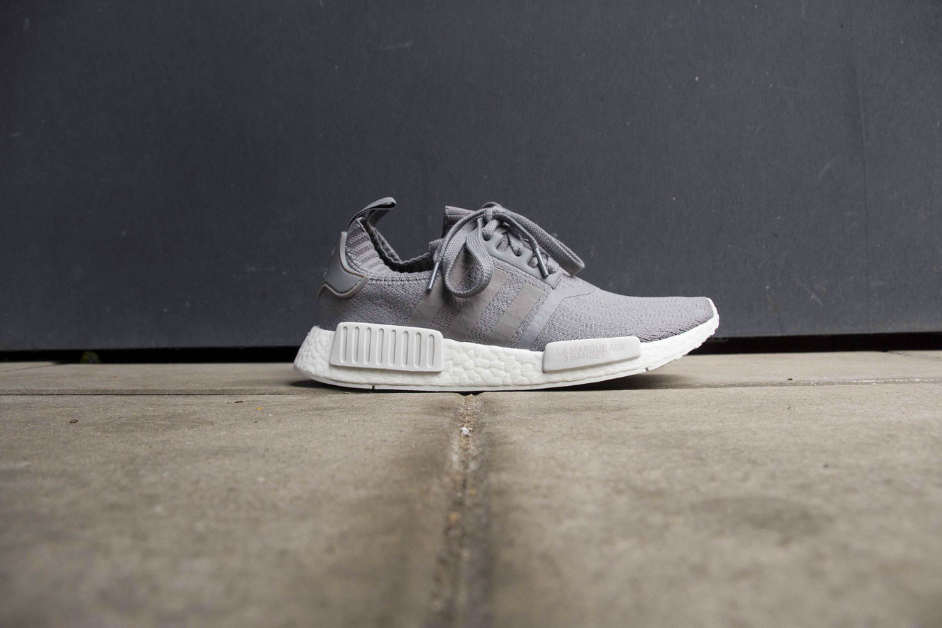 new arrivals 3158e 1b936 adidas NMD R1 Primeknit Grey Three