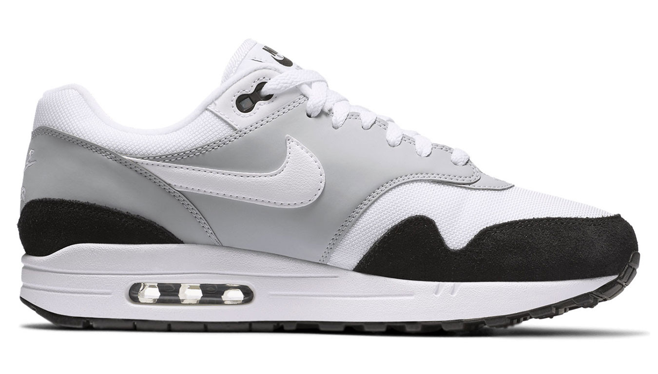 12badc616 Nike Air Max 1 Wolf Grey White-Black AH8145-003