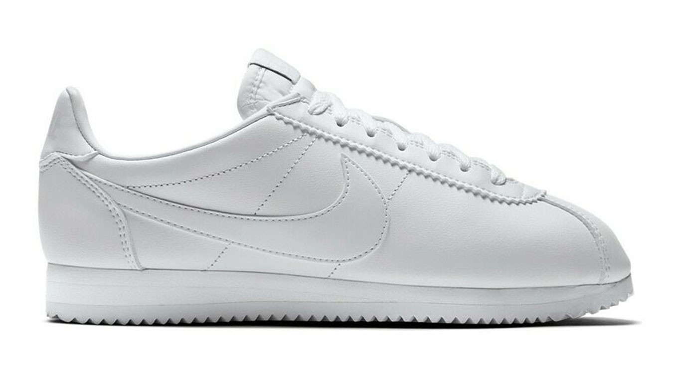 new product 4c236 e292d Nike Classic Cortez All White