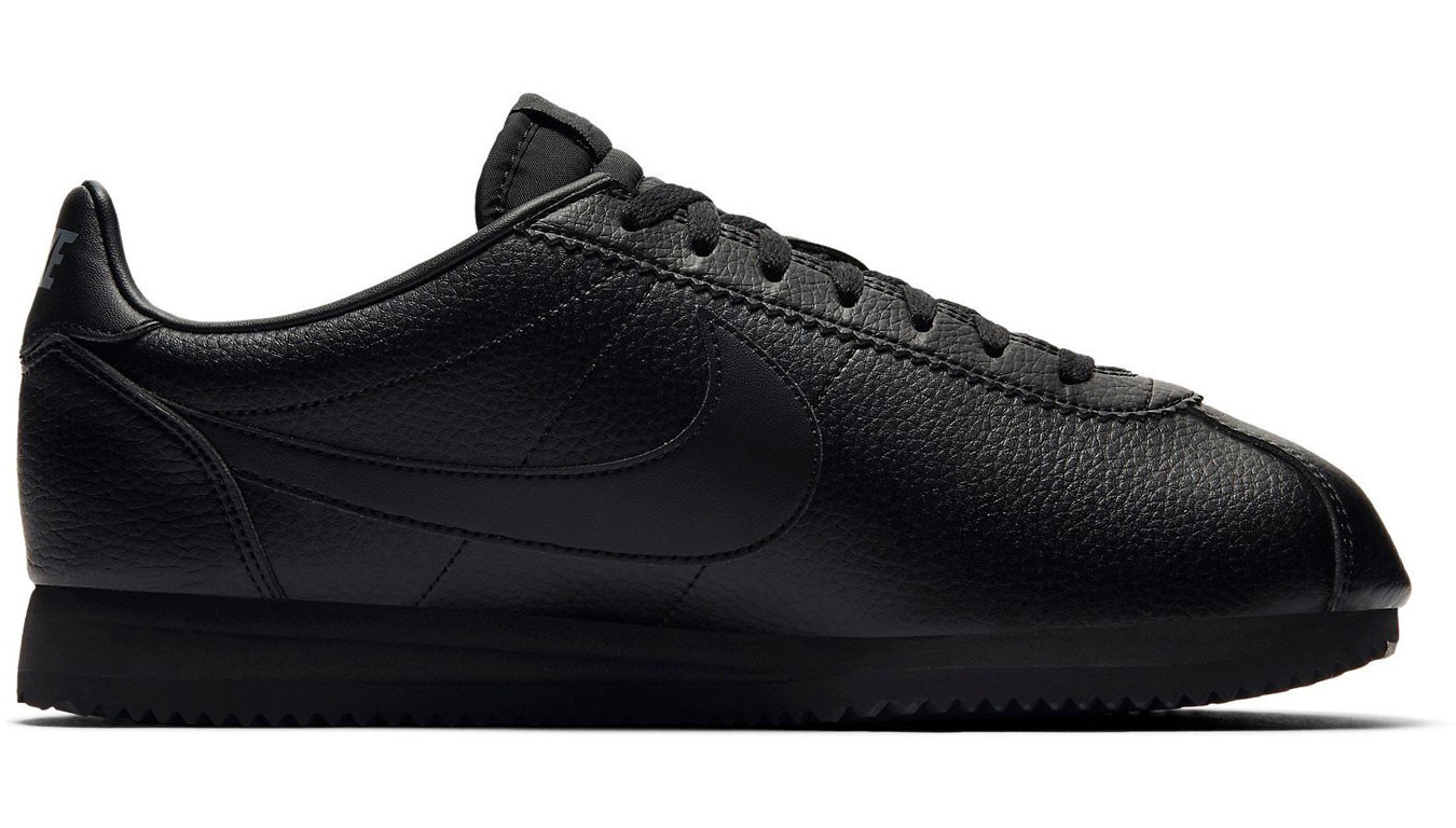 a2ab6603 Nike Classic Cortez Leather Black/Black-Anthracite 749571-002