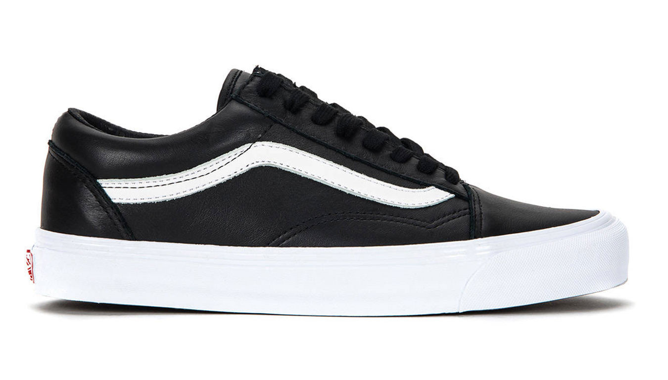 Vans OG Old Skool LX VLT Black Leather