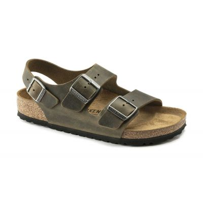 Birkenstock Milano BS Fhaded Khaki Regular Fit