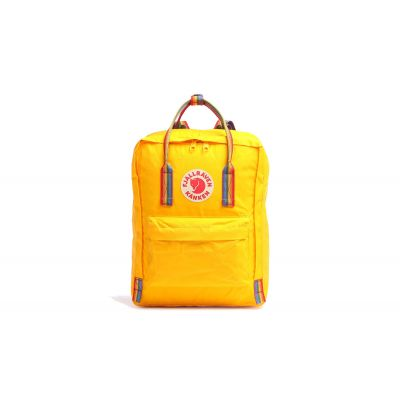 Fjällräven Kånken Rainbow Warm Yellow