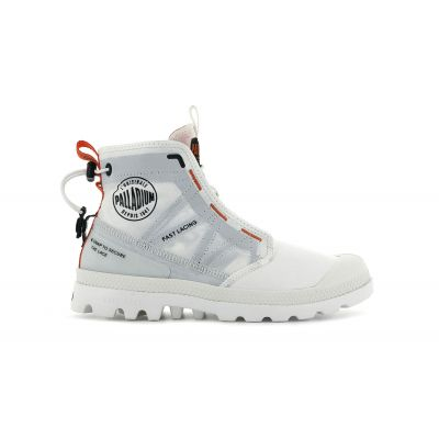 Palladium Pampa Travel Lite White