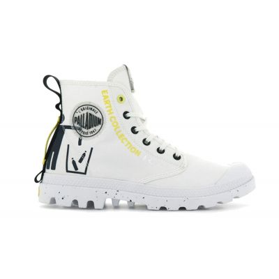 Palladium Pampa Recycle Star White