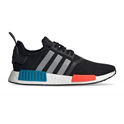 adidas Nmd_R1 Core Black/Silver Met./Solar Red