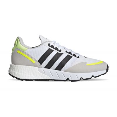adidas ZX 1K Boost Ftwr White/Core Black/Solar Yellow