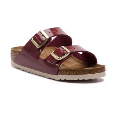 Birkenstock Arizona BS Patent Bordeaux Narrow