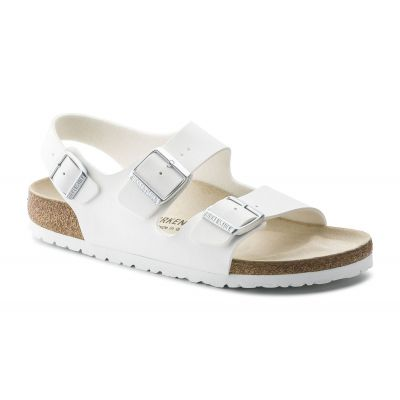 Birkenstock Milano BS White Narrow