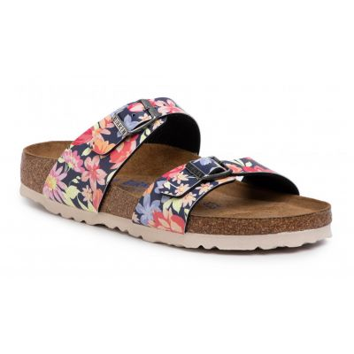 Birkenstock Sydnes BS Supernatural Flowers Navy Narrow
