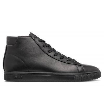 Clae Bradley Mid Tripple Black Leather
