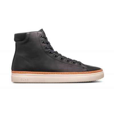 Clae Bradley Welt Black Water Repellent Leather