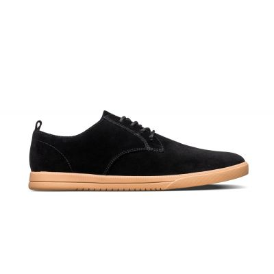 Clae Ellington Black Natural Suede