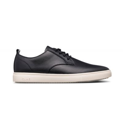 Clae Ellington SP Black Milled Leather