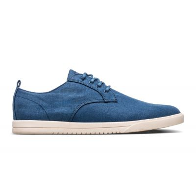 Clae Ellington Textile Ensign Blue Hemp