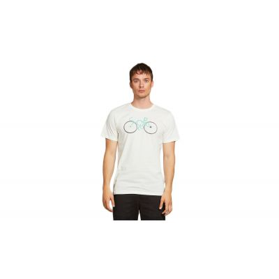 Dedicated T-shirt Stockholm Cyclopath Off-White