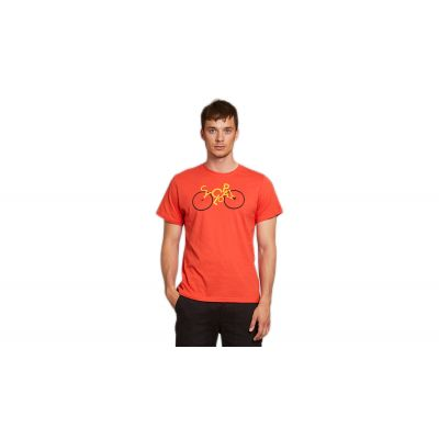 Dedicated T-shirt Stockholm Cyclopath Pale Red