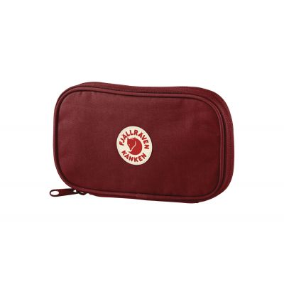 Fjällräven Kånken Travel Wallet Ox Red